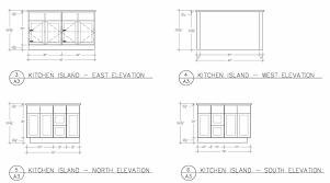 kitchen island dimensions standard