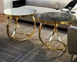 double brass glass coffee table brass glass coffee table