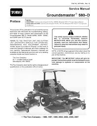 90743sl pdf groundsmaster 580 d rev g dec 2007 by negimachi