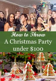 throw a christmas party for less than 100 aldi style