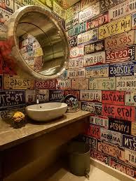 edmonton tile bathroom industrial with framed mirror metal makeup
