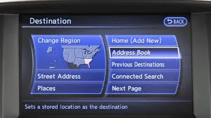 2016 infiniti qx80 destination button youtube