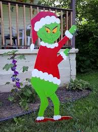 grinch christmas lights 48 sneaking grinch stealing christmas lights yard decoration