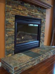 Porcelain Tile Fireplace Ideas by Slate Tile On Fireplace Touchdown Tile Llc A Minnesota Tile