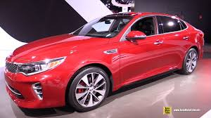 Kia Optima Interior Colors 2016 Kia Optima Sx T Gdi Exterior And Interior Walkaround