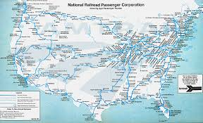 Boston Rail Map by Amtrak System Map 1981 U2014 Amtrak History Of America U0027s Railroad