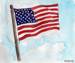Us Flag Facts How To Paint The Us Flag With Water Colors Wiki Talks