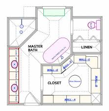 master bathroom floor plans pictures bohlerint intended for with
