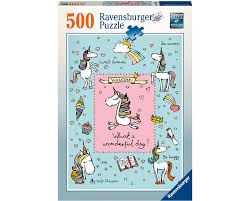 imagenes de unicornios en caricatura rompecabezas 500 piezas ravensburger unicornios caricaturas