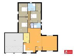 plan de maison avec cuisine ouverte nos réalisations plans 3d et aménagement intérieur maisons