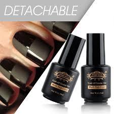 amazon com perfect summer matte top coat uv led clear gel nail