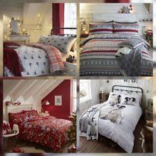 Brushed Cotton Duvet Covers Brushed Cotton Christmas Bedding Sets U0026 Duvet Covers Ebay