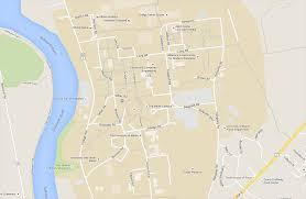 Map Of Oxford Ohio by Campus Map The University Of Maine University Of Maine