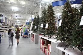 white tree walmart time prelit u brookfield fir