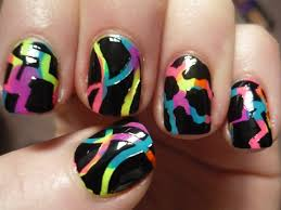 aztec tribal nail design youtube halloween nail art youtube