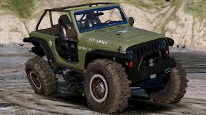 army jeep 2017 od army livery for jeep trailcat gta5 mods com