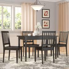 three posts barryknoll 5 piece dining set u0026 reviews wayfair