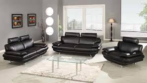 Black Leather Sofa Set Inspiring Leather Living Room Sets Ivory On Sale Black Stripes