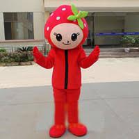 Strawberry Shortcake Halloween Costume Wholesale Strawberry Shortcake Mascot Costume Buy Cheap