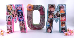 how to decorate letters for mother u0027s day