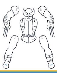 superhero jumping jacks coloring edition vol 2 gulin