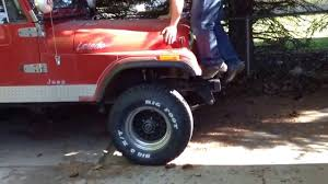 jeep cj prerunner cj 7 stiff suspension youtube