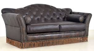 The Leather Factory Sofa Western Leather Sofa Bonners Furniture
