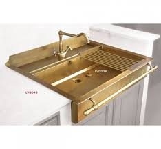 FROM THE RIGHT BANK Todays Crush GoldBrassBronze Kitchen - Brass kitchen sink