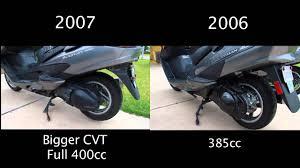 difference between 2006 and 2007 suzuki burgman 400s youtube