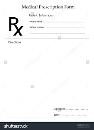 blank prescription form template bakrietemplates net is all