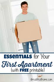 First Apartment by First Apartment Essentials Plus A First Apartment Checklist