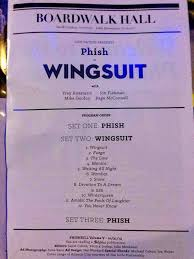 phish to play their new album wingsuit for halloween
