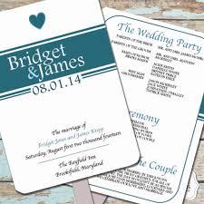 instant download paddle fan wedding program template