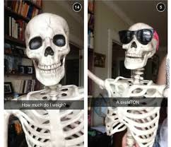Spooky Scary Skeletons Meme - spooky scary skeleton that lacks the only bone that matters memes