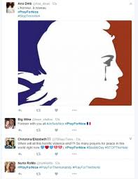 daily quote hashtags david guetta and paris hilton pray for nice terror attack victims