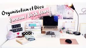 Organisation Décoration Bureau Rangement Diy My Desk Tour Bureau Diy