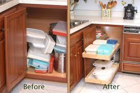 Kitchen Cabinet Racks Corner Kitchen Cabinets Blind Corner Cabinet Solution M Top