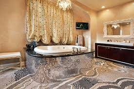 Luxury Homes Designs Interior by Mosaic Tile Home Interior Bathroom Mosaic Tile Design Ideas