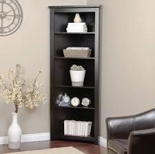 Corner Bookcase Unit Storage Organization Corner Shelving Unit To Maximize The