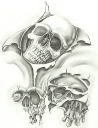 free skull tattoo flash in 2017 real photo pictures images and