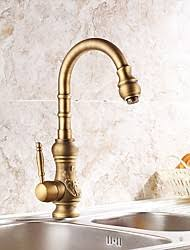 brass kitchen faucet antique brass kitchen faucet lightinthebox