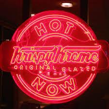 krispy kreme light hours krispy kreme when the now sign is on atlanta institutions you