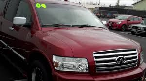 infiniti qx56 limo 2004 infiniti qx56 4wd red art gamblin motors tim smitty smith
