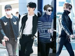 exo quiz boyfriend airport fashion 101 sehun of exo kpopmap