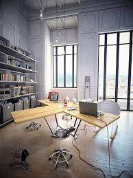 multi user home office interior design ideas trends and industrial