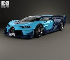 concept bugatti bugatti vision gran turismo 2015 3d model hum3d
