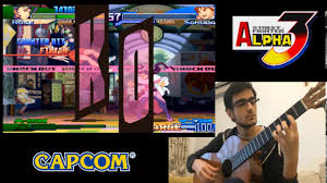 rose theme alpha 3 street fighter alpha 3 theme of rose with guitar youtube