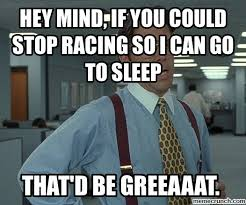 Mind Meme - racing meme that d be great
