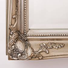 Ornate Mirrors Vintage Ornate Mirror Antique Silver By Hand Crafted Mirrors