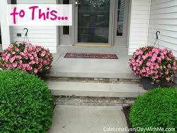 entertaining fridays gardening hack for gorgeous flower pots